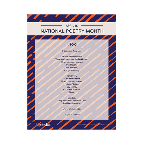 National Poetry Month Posters