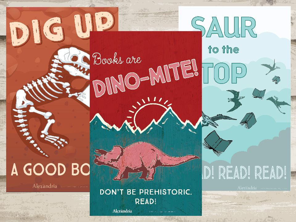 dinosaurs posters-01