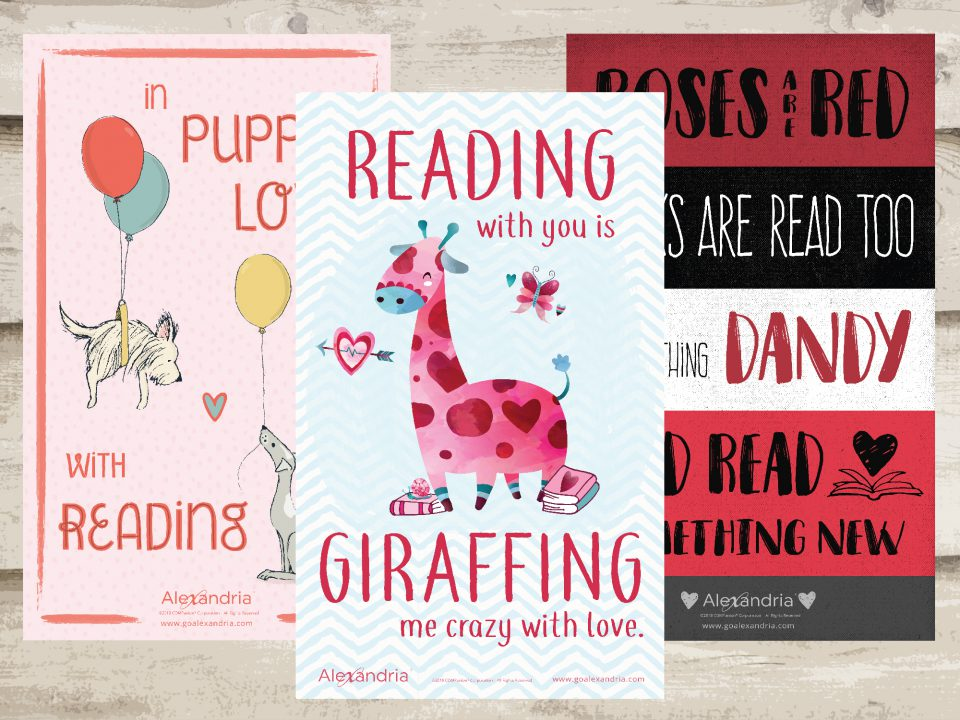February free library posters