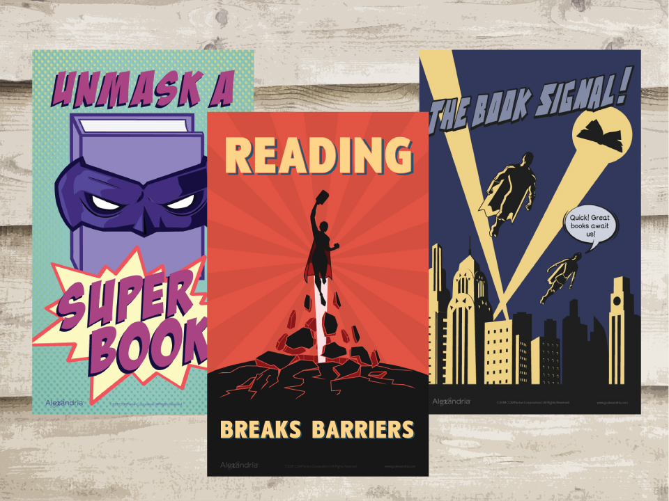 September free reading posters