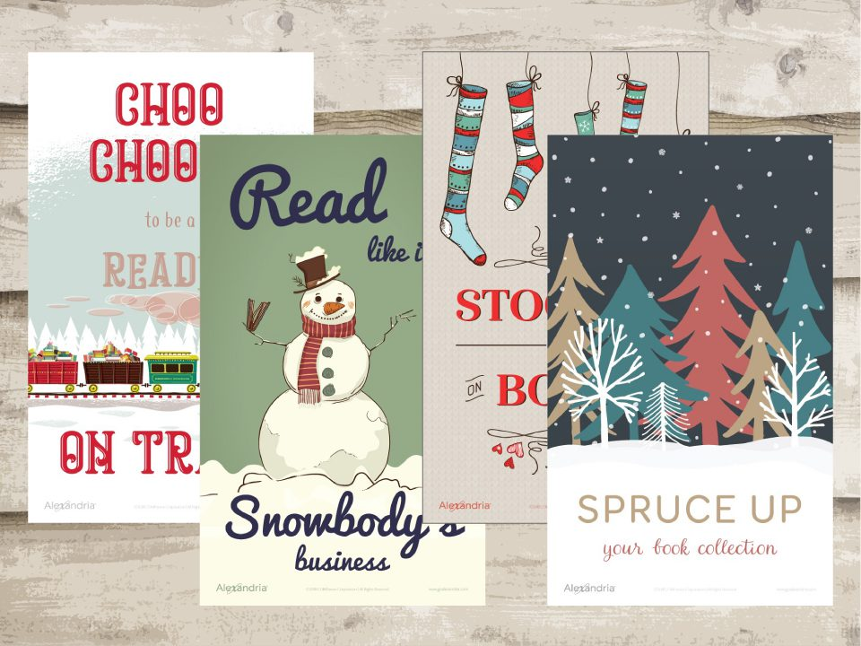 December Reading Posters