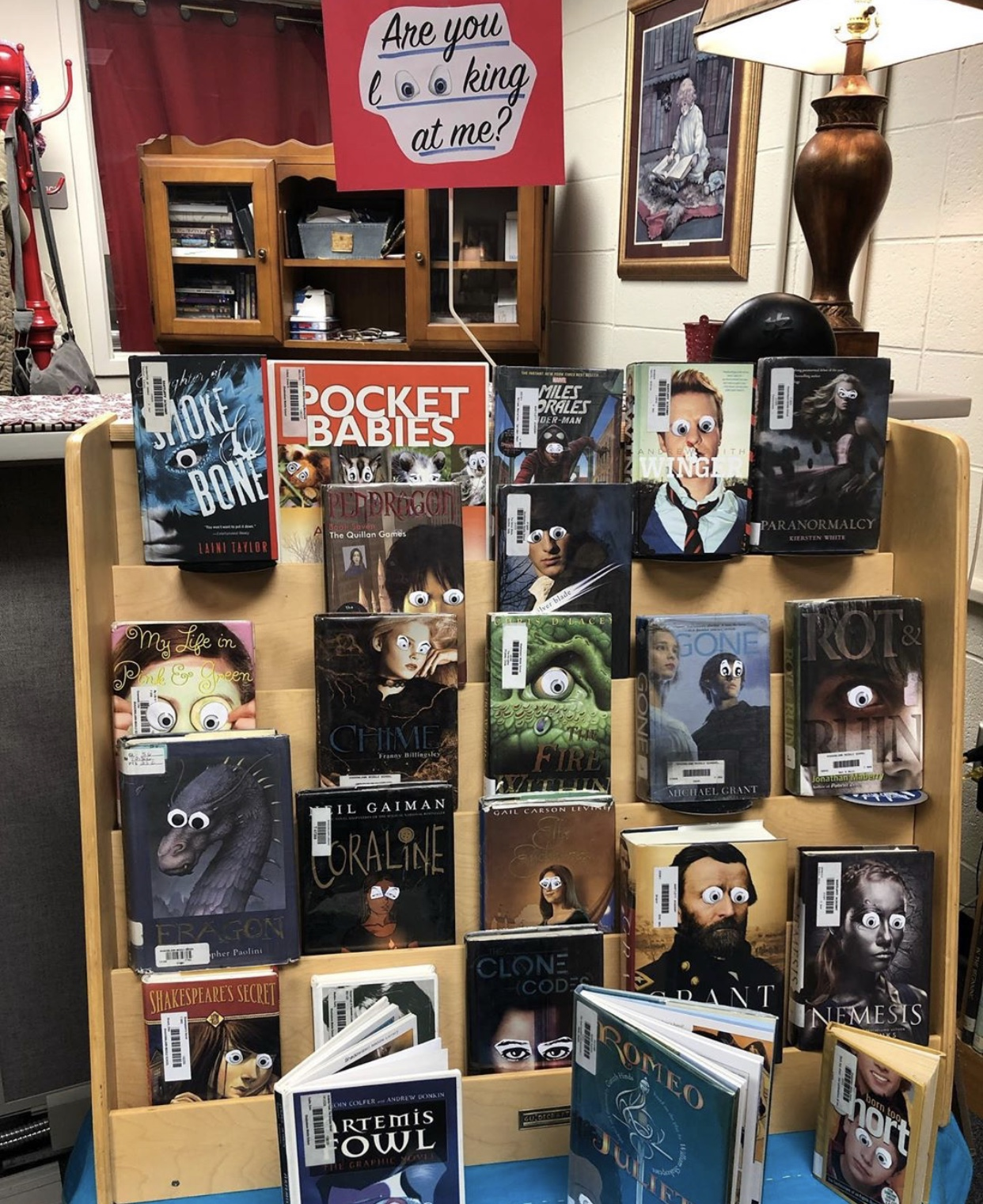Halloween Library Displays